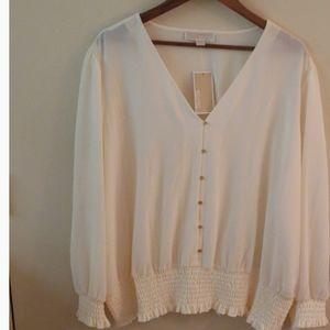 Michael Kors ivory blouse